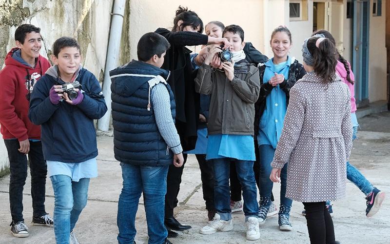 newsletter workshop photo chantale fahmi